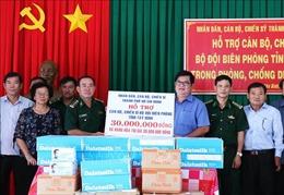 Nhân dân, cán bộ, chiến sỹ TP Hồ Chí Minh hỗ trợ vùng biên giới