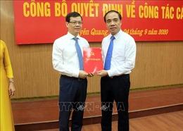 Tuyên Quang công bố các Quyết định về công tác cán bộ