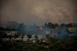 Cảnh sát Hy Lạp chuyển hàng trăm người di cư đến trại tị nạn mới sau vụ cháy