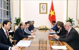 Thủ tướng Nguyễn Xuân Phúc tiếp các Đại sứ Hà Lan, Bỉ và các nhà đầu tư EU