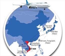 Tháng 9/2020, khôi phục 6 đường bay thương mại quốc tế