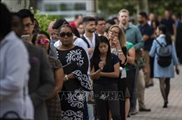 Số lao động xin trợ cấp thất nghiệp tại Mỹ tiếp tục dưới 1 triệu người