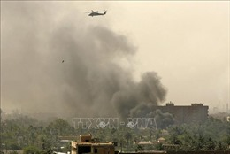 Rocket Katyusha lại bắn vào khu vực sân bay quốc tế Baghdad