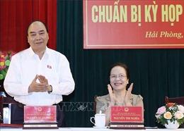 Thủ tướng tiếp xúc cử tri Hải Phòng trước Kỳ họp thứ 10, Quốc hội khóa XIV