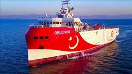 Hy Lạp chỉ trích Thổ Nhĩ Kỳ đưa tàu thăm dò địa chấn trở lại Đông Địa Trung Hải