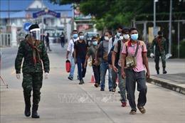 Thái Lan thắt chặt kiểm soát tại 10 tỉnh dọc biên giới với Myanmar