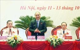 Thủ tướng dự Đại hội đại biểu Đảng bộ Công an Trung ương lần thứ VII