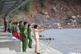 Hội thi bắn súng, võ thuật lần thứ I lực lượng trực tiếp chiến đấu trong CAND