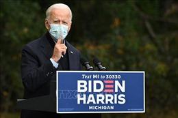 Ứng cử viên Dân chủ J.Biden phản đối tranh luận nếu Tổng thống D.Trump còn mắc COVID-19