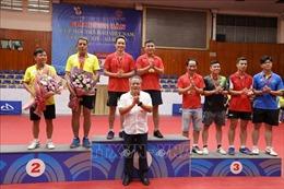 Trao 152 bộ huy chương tại Giải Bóng bàn Cúp Hội Nhà báo Việt Nam lần thứ XIV
