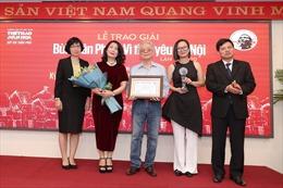 Giải Bùi Xuân Phái - Vì tình yêu Hà Nội lần 13 - 2020: Nhạc sĩ Phú Quang giành Giải thưởng Lớn
