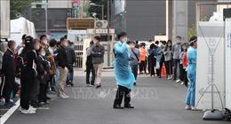 Hàn Quốc ghi nhận số ca mắc COVID-19 tăng trên 100 ca