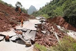 Giao thông Quảng Bình thiệt hại nặng do mưa lũ
