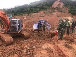 Vụ sạt lở đất ở Quảng Trị: Tìm được thêm 2 thi thể cán bộ, chiến sỹ
