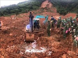 Tìm thấy toàn bộ 22 thi thể cán bộ, chiến sĩ bị vùi lấp ở Quảng Trị
