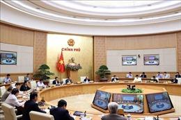 Thủ tướng chủ trì họp Thường trực Chính phủ về công tác khắc phục hậu quả lũ lụt