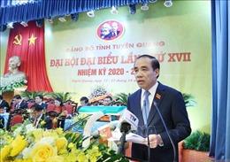 Bí thư Tỉnh ủy Tuyên Quang: Đưa Tuyên Quang phát triển khá, toàn diện, bền vững trong khu vực miền núi phía Bắc