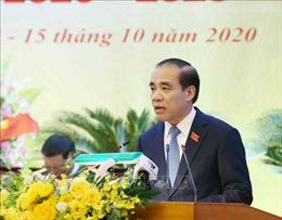 Đồng chí Chẩu Văn Lâm tái đắc cử Bí thư Tỉnh ủy Tuyên Quang