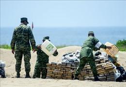 Mexico thu giữ 2 tấn cocaine ngoài khơi bờ biển miền Nam