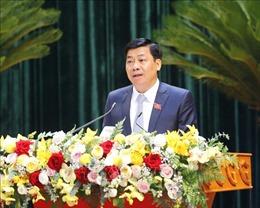 Đồng chí Dương Văn Thái được bầu giữ chức Bí thư Tỉnh ủy Bắc Giang