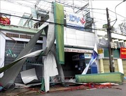 Quảng Ngãi, Bình Định 'tan hoang' trong bão số 9