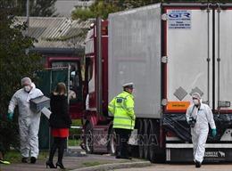Phát hiện tình tiết mớivụ 39 thi thể trong xe tải ở Anh