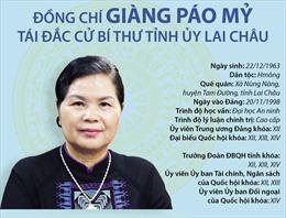 Đồng chí Giàng Páo Mỷ tái đắc cử Bí thư Tỉnh ủy Lai Châu
