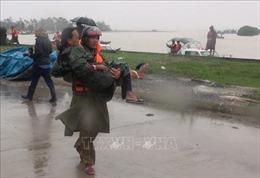 Chủ động ứng phó bão số 8, huy động lực lượng hỗ trợ nhân dân