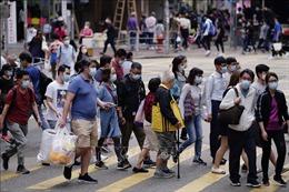 Số ca mắc COVID-19 tại Hong Kong (Trung Quốc) vượt trên 6.000