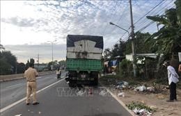 Nam thanh niên bị tử vong do tông vào đuôi xe tải dừng bên đường