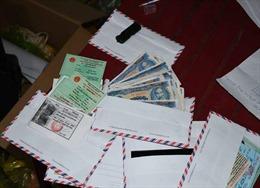 Bắt giữ cặp vợ chồng làm tiền giả mệnh giá 5.000 đồng