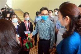 Phó Thủ tướng Vũ Đức Đam kiểm tra công tác phòng, chống dịch COVID-19 tại Quảng Ninh