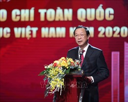 Trao Giải báo chí toàn quốc 'Vì sự nghiệp Giáo dục Việt Nam' năm 2020