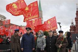 Kỷ niệm 103 năm Cách mạng Tháng Mười Nga tại Moskva