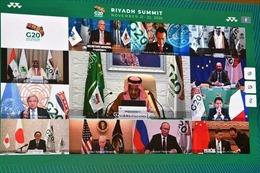 Hội nghị thượng đỉnh G20: Nhấn mạnh sự tiếp cận toàn cầu đối với vaccine ngừa COVID-19