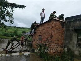 Quân - dân Gia Lai đồng lòng khắc phục hậu quả bão lũ