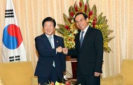 Lãnh đạo TP Hồ Chí Minh tiếp Chủ tịch Quốc hội Hàn Quốc