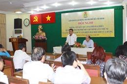 Liên đoàn Lao động TP Hồ Chí Minh tổ chức góp ý dự thảo văn kiện Đại hội Đảng XIII