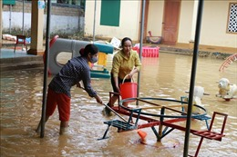 134 trường, điểm trường tại Nghệ An chưa thể dạy học trở lại