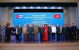 Tăng cường hợp tác quốc phòng song phương Việt Nam - Cuba