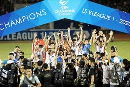Thống nhất phương án tổ chức V.League 2021
