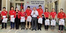 Thừa Thiên - Huế tiếp nhận cứu trợ từ Trung ương Hội Chữ thập đỏ Việt Nam