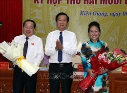 Bầu Chủ tịch HĐND vàChủ tịch UBND tỉnh Kiên Giang