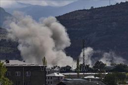 Xung đột tại Nagorny-Karabakh: Lực lượng gìn giữ hòa bình Nga tới Stepanakert
