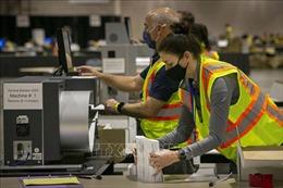 Giới chức bầu cử Mỹ khẳng định 'không có bằng chứng' phiếu bầu bị thất lạc
