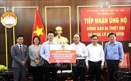 Tiếp tục sẻ chia, hỗ trợ người dân Quảng Nam vượt qua khó khăn do bão lũ