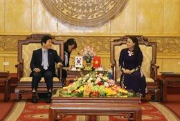 Chủ tịch Quốc hội Hàn Quốc thăm và làm việc tại Ninh Bình
