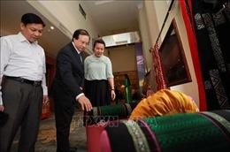 Lễ hội thổ cẩm Việt Nam tôn vinh nét độc đáo văn hóa dân tộc