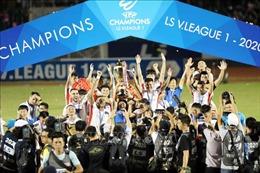 Nhìn lại V.League 2020: Kết thúc đẹp trong mùa giải đầy biến động