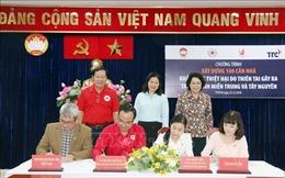 Xây dựng 100 căn nhà ủng hộ các tỉnh miền Trung -Tây Nguyên